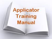 Applicator Training Manual