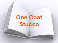One Coat Stucco