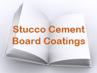 Stucco Cement Board Coatings