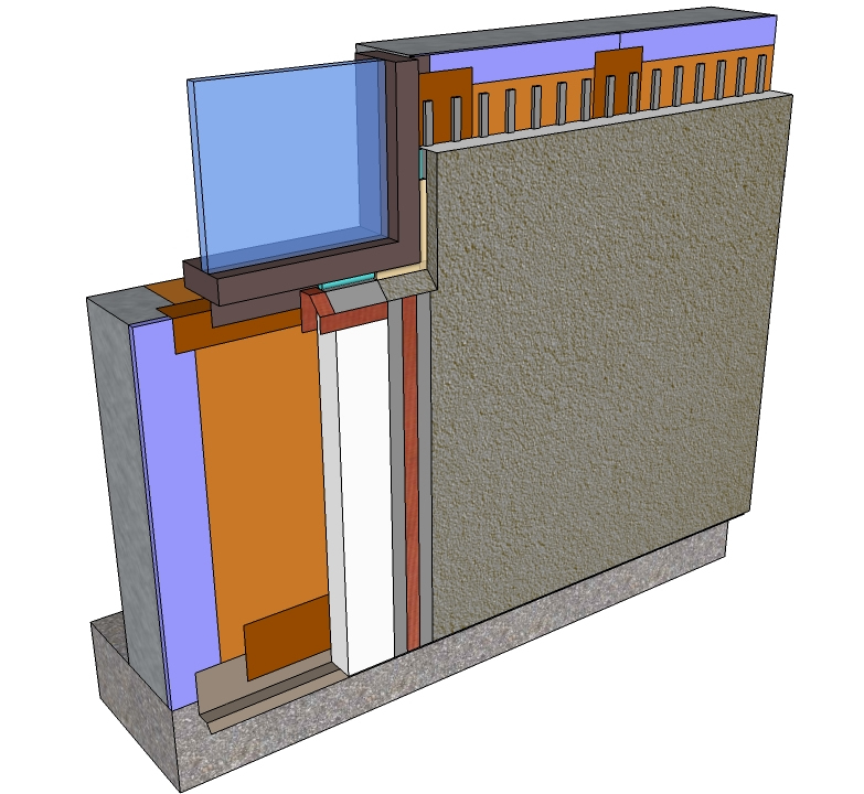 Master wall division 7 systems for Exterior insulation and finish system