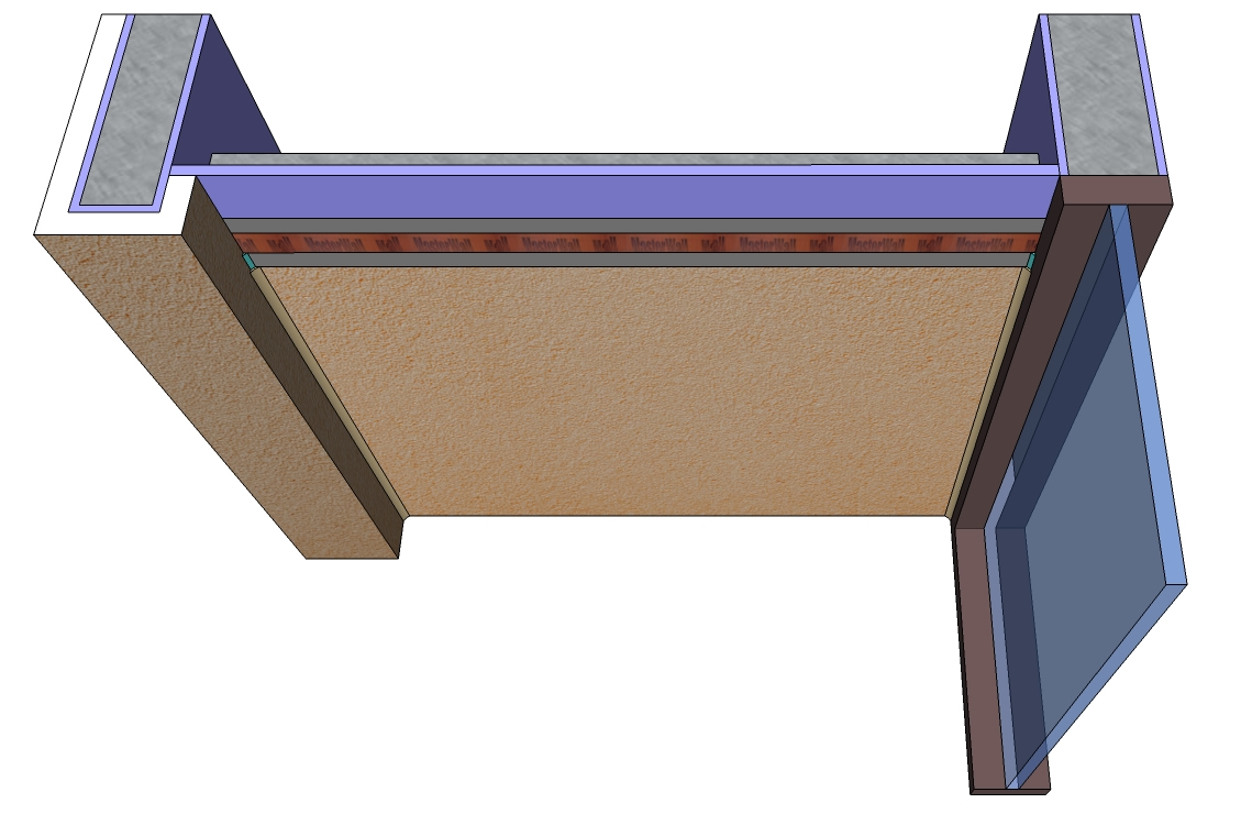 Exterior Gypsum Board ~ Master wall division systems