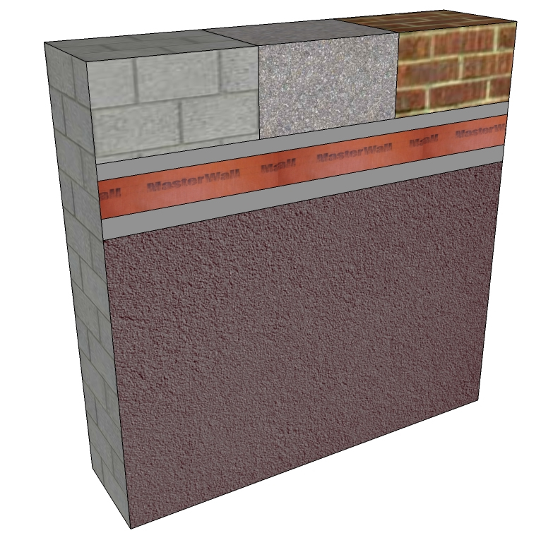 Exterior insulation finishing system for Exterior insulation and finish system