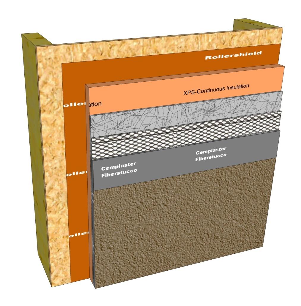 Drainage Media Master Wall